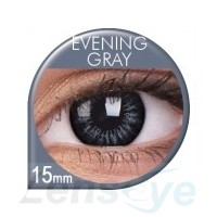 Big Eyes, 2szt. - Evening Gray + gratis płyn