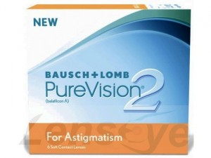 PureVision 2 HD for Astigmatism, 6 szt